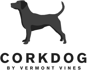 Logo for CorkDog branding campaign.